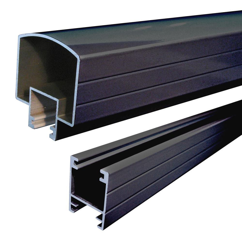 Add hand base rails railblazers aluminum railing