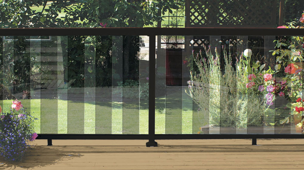 Black-6-Inch-Tinted-Glass-Panel-Railing