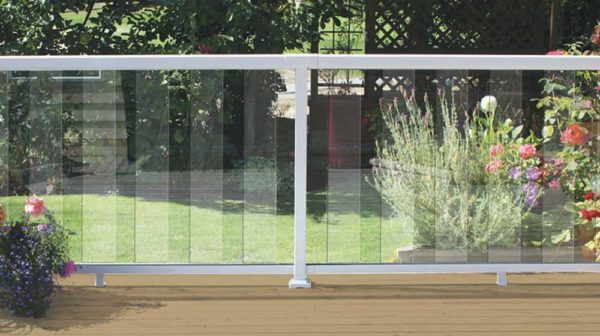 White-6-Inch-Clear-Glass-Panel-Railing